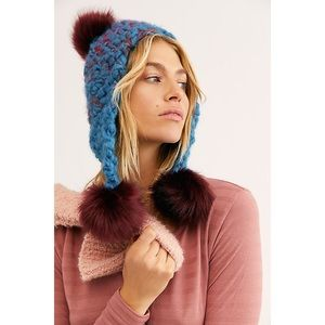 🎀 Free People • Snow Castle Trapper Hat